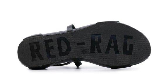 Red Rag Vrouwen Sandalen - 79242 Zwart Maat 37 l5dOec