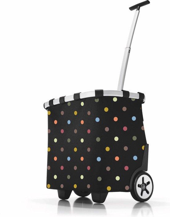 Reisenthel Carrycruiser Boodschappentrolley - Polyester - 40L - Dots Zwart