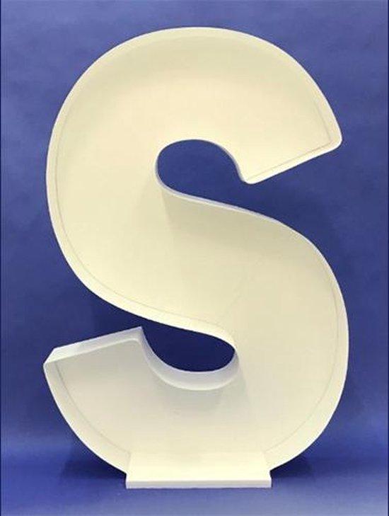 Ballon Mozaiek frame Letter S (100cm)