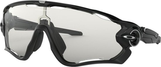 Oakley Jawbreaker - Sportbril - Polished Black / Clear Black Iridium Photocromic
