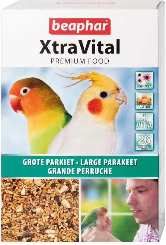 Beaphar Xtravital Grote Parkiet - Vogelvoer - 1 kg