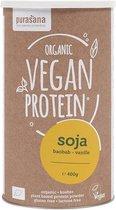 Vegan Protein Soy 90% - Baobab-Vanille 400 Gram (400 Gram) - Purasana