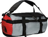 The North Face Gilman Duffel Reistas - Tnf Blk/Mid Gry/Fiery Red - Maat L
