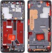 Originele middenkaderring met zijtoetsen voor Huawei P40 Pro (zwart)