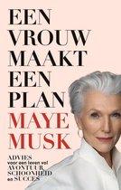 Een vrouw maakt een plan