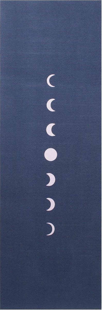 Yogamat sticky extra dik moon indigo - Lotus - 6 mm