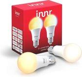 Innr slimme lampen E27 ambiance - werkt met Philips Hue*- Zigbee smart LED - 2 pack