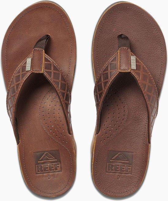 Reef J-Bay Saltillo Heren Slippers - Brown - Maat 43