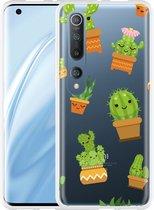 Xiaomi Mi 10 Pro Hoesje Happy Cactus