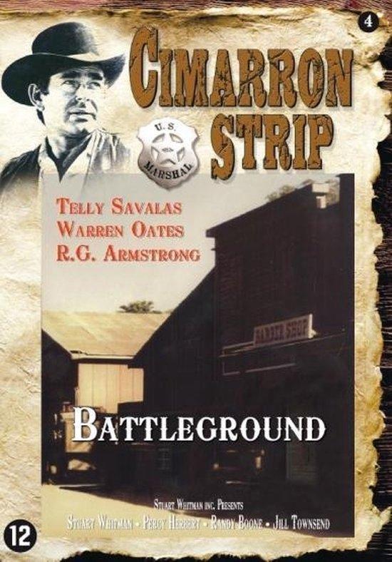 Cover van de film 'Cimarron Strip - The Battleground'