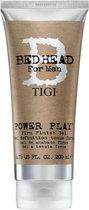 Tigi - Bed Head For Men Power Play Firm Finish Gel 200Ml Men'S Strong Hair Fixative Gel