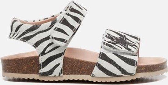 Muyters Sandalen zebraprint - Maat 28