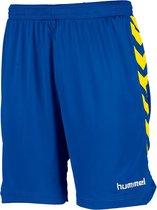 hummel Burnley Short Sportbroek - Blauw - Maat XL