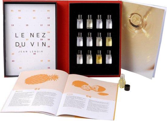 Koelkast: Le Nez du Vin geurdoos wijn - 12 Aroma's Witte Wijn (eng), van het merk Jean Lenoir