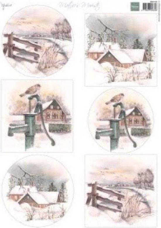Marianne Design • Decoupage Mattie's mooiste winter 10 vel