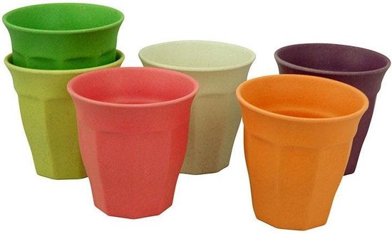 Zuperzozial Cupful of Colour Large - Grote bekers - Rainbow - Zuperzozial