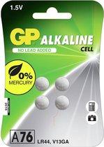 GP Alkaline knoopcel 76A (V13GA / L1154), blister 4