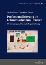 Professionalisierung im Lehramtsstudium Deutsch