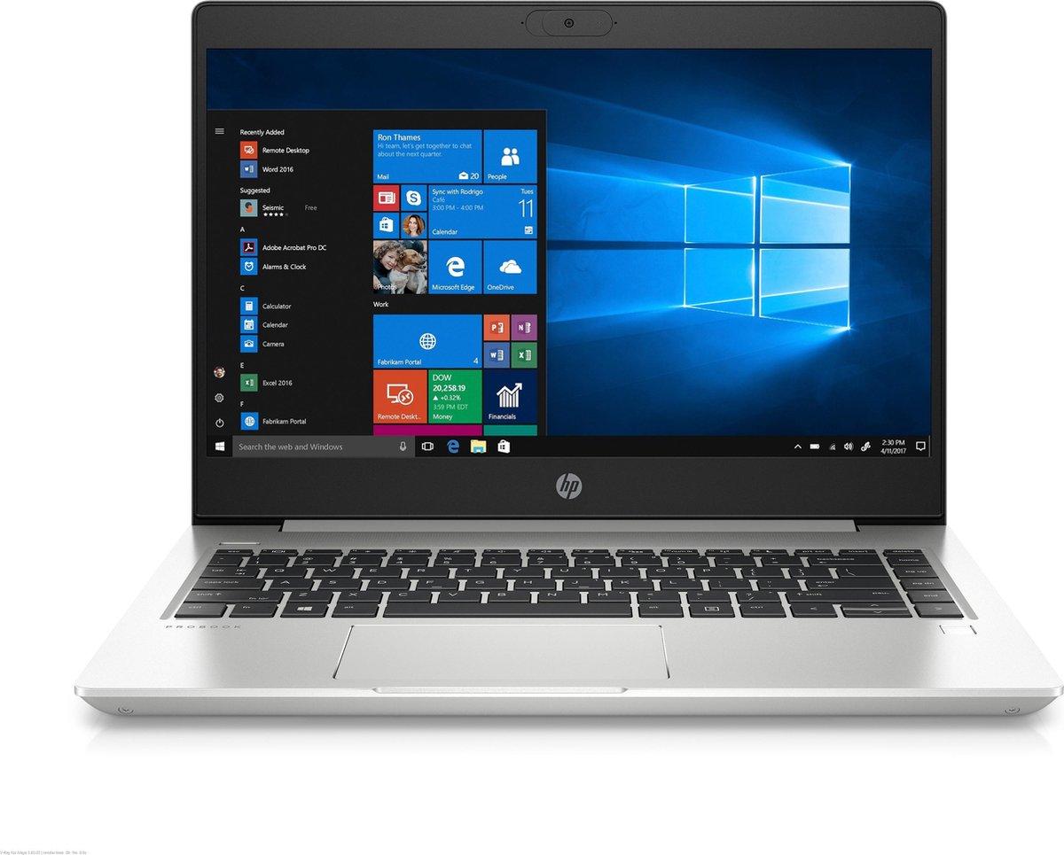 "HP ProBook 455 G7 Notebook Zilver 39,6 cm (15.6"") 1920 x 1080 Pixels AMD Ryzen 5 8 GB DDR4-SDRAM 256 GB SSD Wi-Fi 6 (802.11ax) Windows 10 Pro"