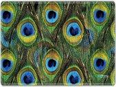 Muismat pauwen patroon - Sleevy