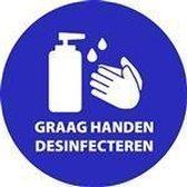 Desinfecteren Handen Verplicht