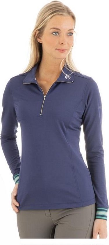 ANKY Long-Sleeve Polo Shirt