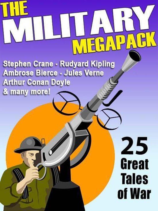 Boek cover The Military MEGAPACK® van Lester Del Rey (Onbekend)