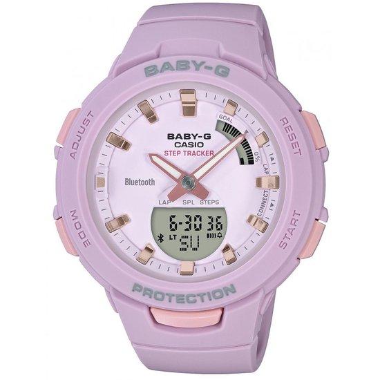 Casio – BSA-B100-4A2ER – Baby-G – horloge – Vrouwen – Roze – Kunststof Ø 38 mm