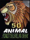 50 Animal Adult Coloring book