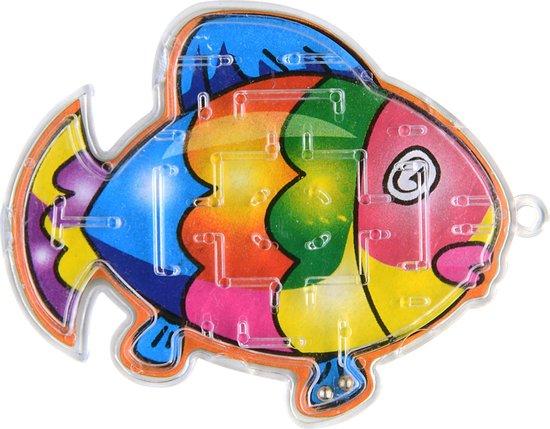 Thumbnail van een extra afbeelding van het spel 10 x Visspel Geduldspelletje Vis Grabbeltoncadeautje Uitdeelcadeautje Vissen Geduldspel Puzzel Spel