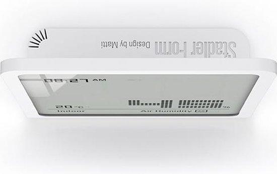 - Selina - Hygrometer - Luchtvochtigheidsmeter - Zwart