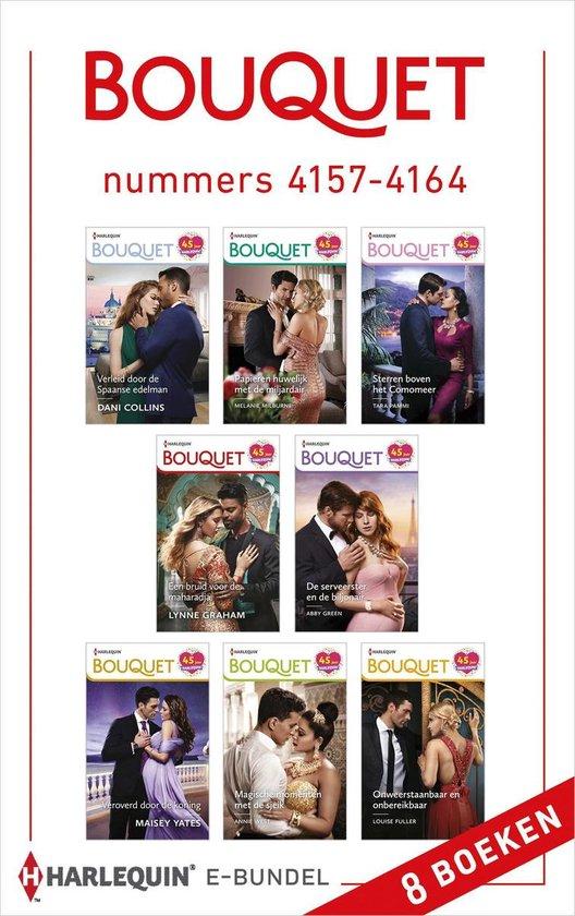 Bouquet 1 - Bouquet e-bundel nummers 4157 - 4164 - Dani Collins pdf epub