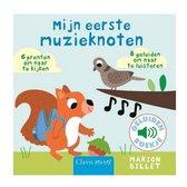 Boek cover Mijn eerste muzieknoten ( geluidenboekje ) van Marion Billet