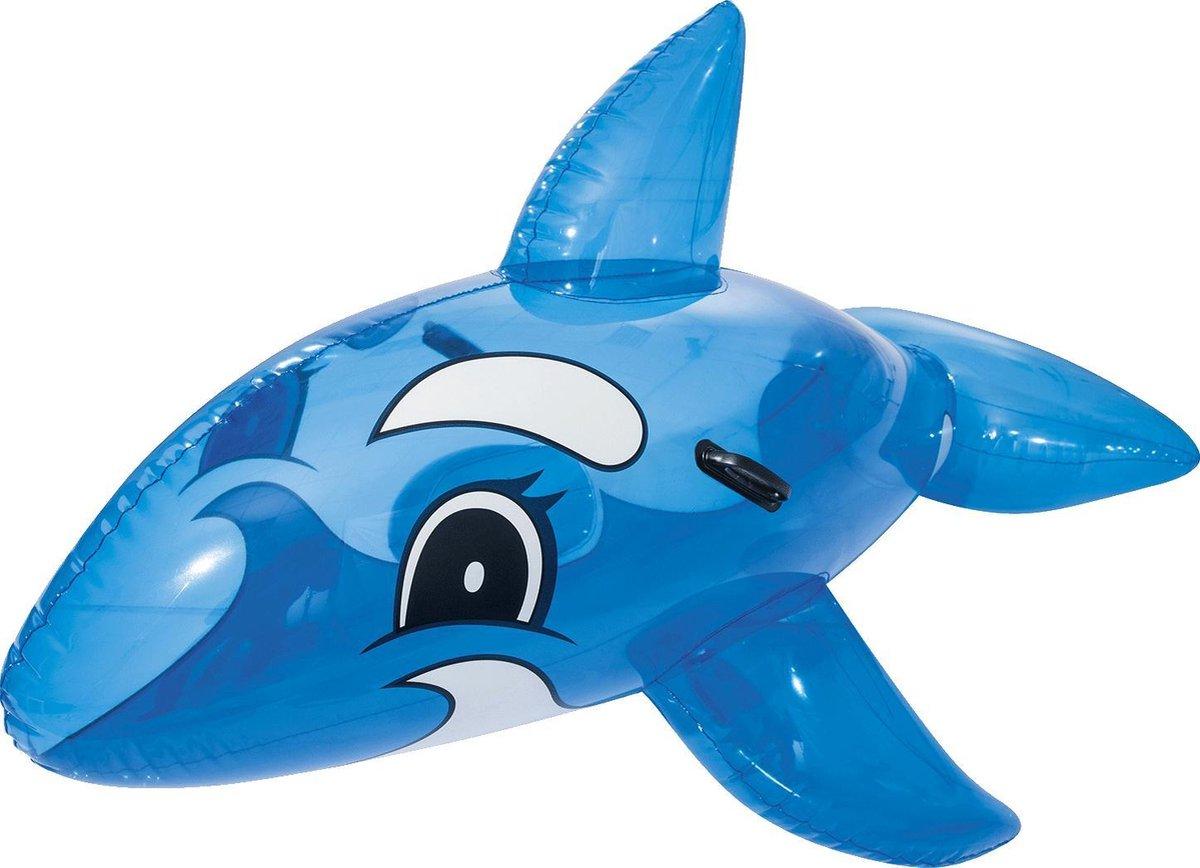 Opblaas dolfijn | blauw