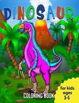 Dinosaurs Coloring Book for Kids Ages 3-5