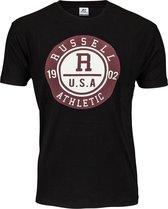Russell Athletic Men SS Crewneck Tee Heren T-shirt M