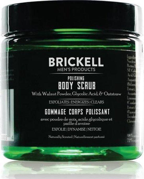 Brickell Men's Polishing Body Scrub 236 ml.