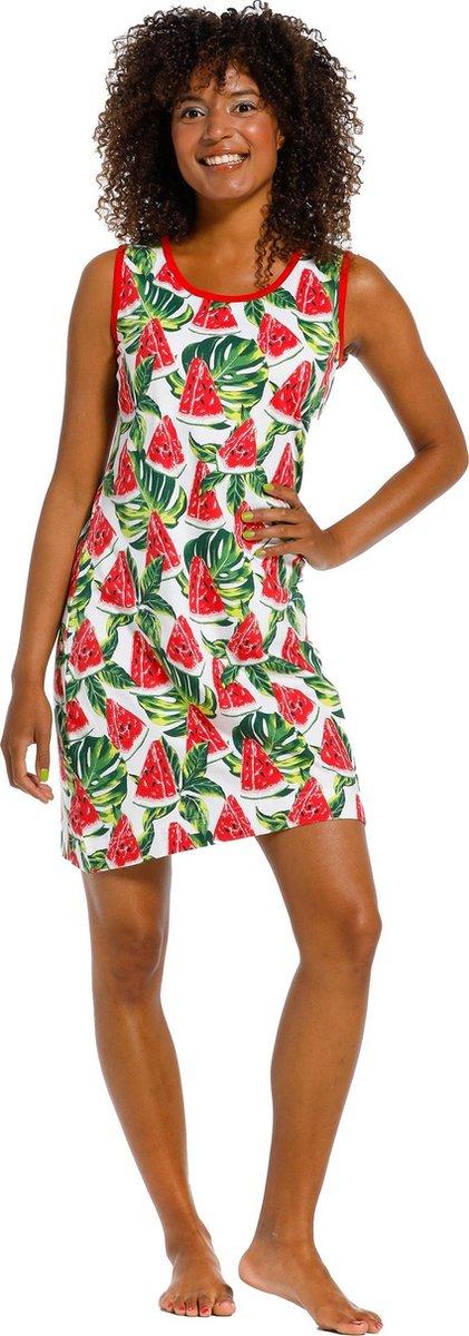 Dames nachthemd Rebelle 11211-410-1 - Rood - 48