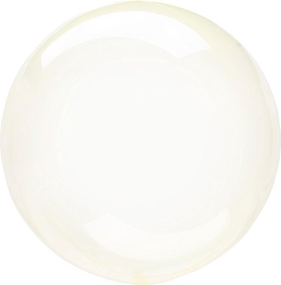 Ballon Orb Crystal Geel - 46 Centimeter