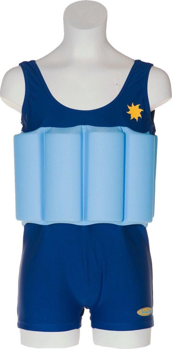 Beverly Kids UV drijfpakje Kinderen Blue Boy - Blauw - Maat 86