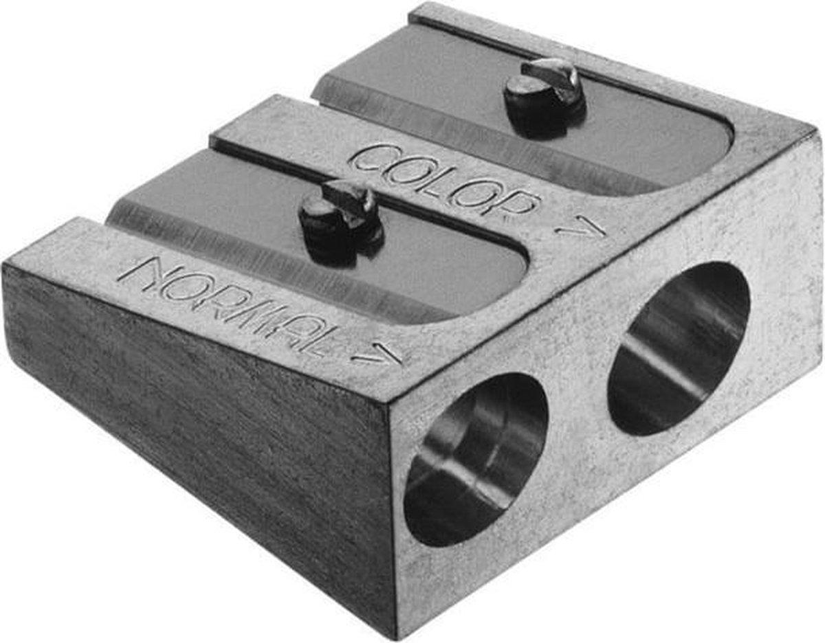 Faber Castell Artist puntenslijper - Dubbel metaal