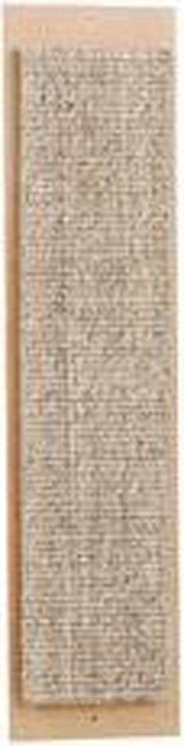 Beeztees Sisal Luxe Grote Krabplank - Incl. Catnip - 49x12 cm - Beeztees