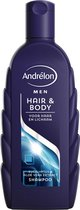 Andrélon Classic Shampoo Hair & Body - 6 x 300 ml - Voordeelverpakking