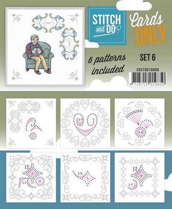 Afbeelding van het spel Stitch & Do - Cards only - Set 6
