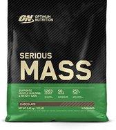 Optimum Nutrition - Serious Mass - Sportvoeding / Mass Gainer - 5455 Gram (16 shakes) - Chocolade Smaak - 1 Pot