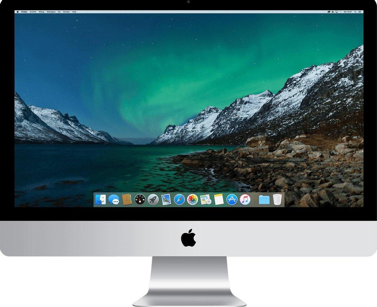 Apple iMac 21.5 inch Refurbished – Quad Core i5 2 7 Ghz – 8GB – 1TB HDD – Eind 2013 – B-grade