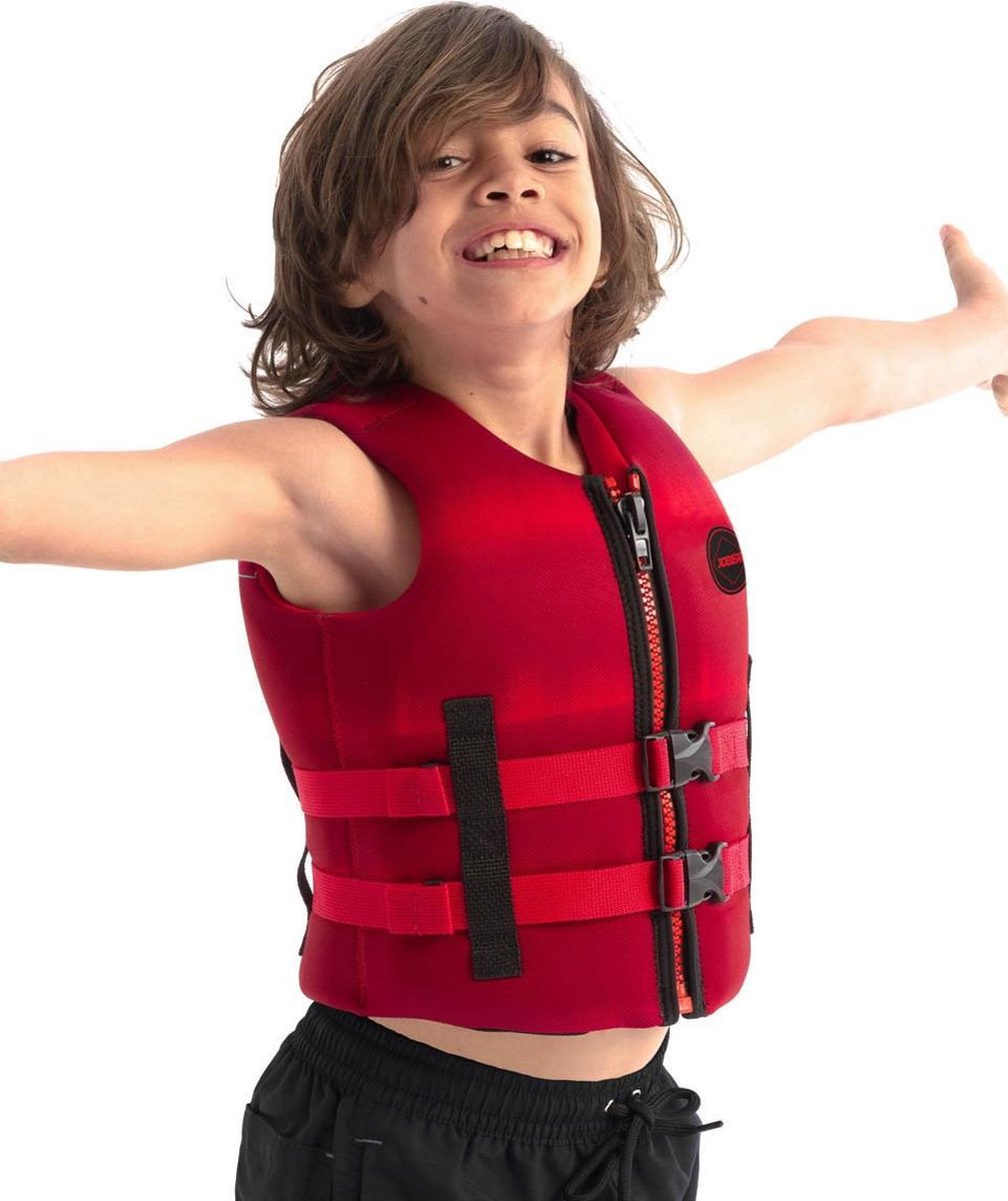 Jobe Neopreen Zwemvest Kinderen Rood