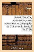 Recueil des edits, declarations, arrets et lettres patentes