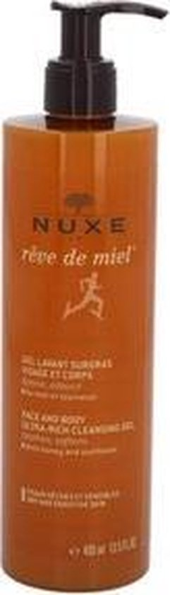 Nuxe Rêve de Miel Face and Body Ultra-Rich Reinigingsgel - 400 ml