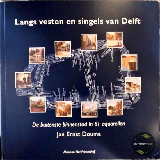Boek cover Langs vesten en singels van Delft van D.H.A.C. Lokin (Onbekend)